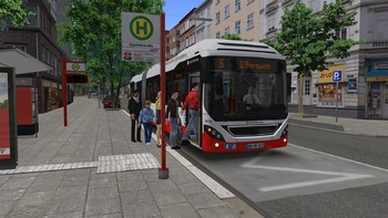 Screenshot6 - OMSI 2 Add-on HafenCity - Hamburg modern