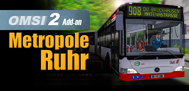 OMSI 2 Add-on Metropole Ruhr - Cover / Packshot