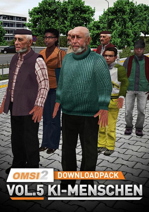 OMSI 2 Add-on Downloadpack Vol. 5 – KI-Menschen - Cover / Packshot