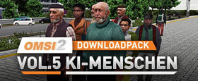 OMSI 2 Add-on Downloadpack Vol. 5 – KI-Menschen
