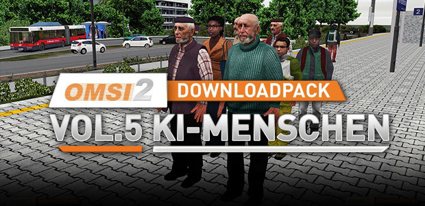 OMSI 2 Add-on Downloadpack Vol. 5 – AI People - Cover / Packshot