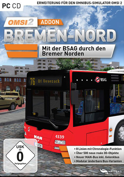 OMSI 2 Add-on Bremen-Nord - Packshot