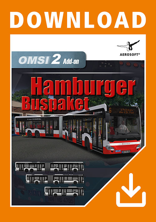 OMSI 2 Add-on Hamburger Buspaket - Cover