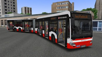 Screenshot1 - OMSI 2 Add-on Hamburger Buspaket