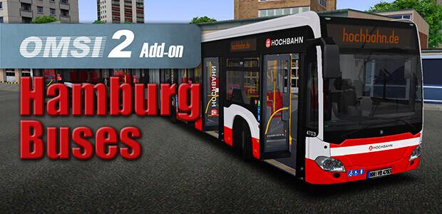 OMSI 2 Add-on Hamburg Buses - Cover / Packshot