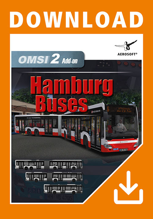 OMSI 2 Add-on Hamburg Buses - Cover / Packshot