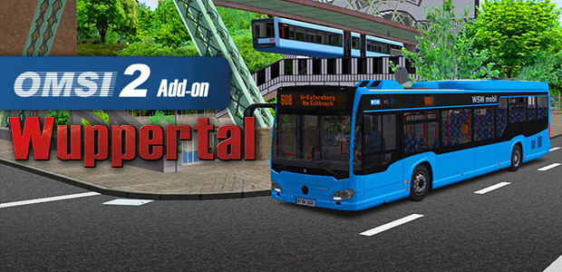 OMSI 2 Add-On Wuppertal