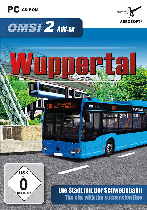OMSI 2 Add-On Wuppertal - Cover / Packshot