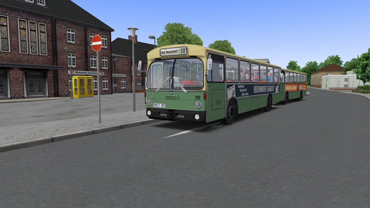 OMSI 2 Add-on City Bus O305 [Steam CD Key] for PC - Buy now