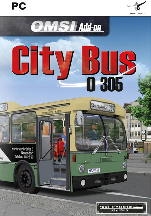 OMSI 2 Add-on City Bus O305 - Cover / Packshot