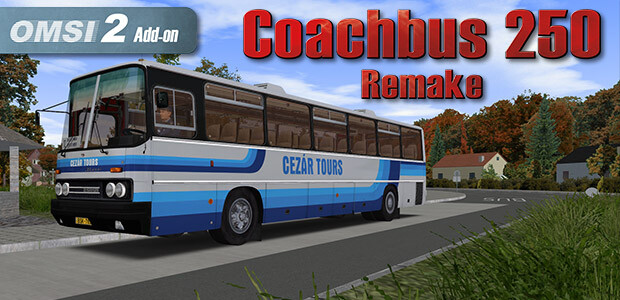 OMSI 2 Add-On Coachbus 250 - Cover / Packshot