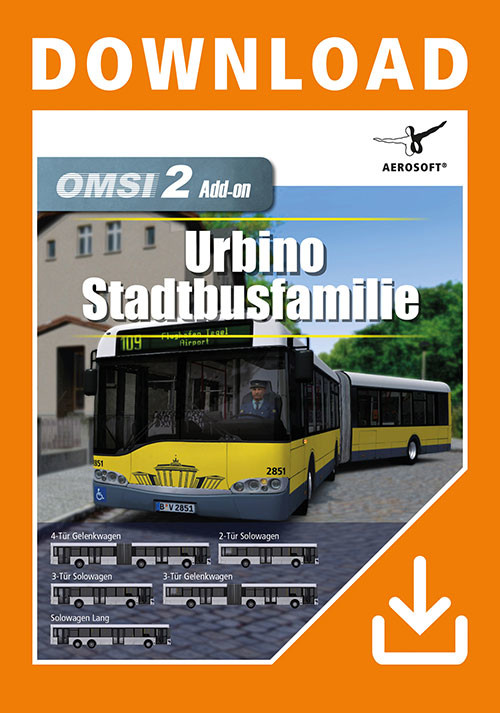 OMSI 2 Add-On Urbino Stadtbusfamilie - Cover