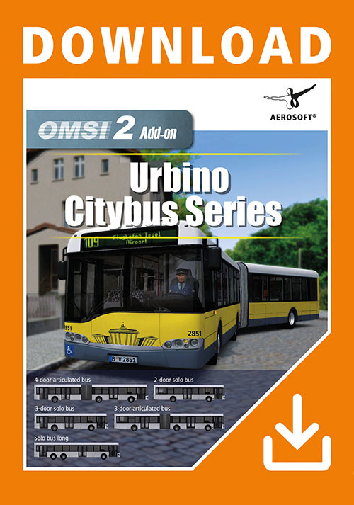OMSI 2 Add-on Urbino Citybus Series - Cover / Packshot
