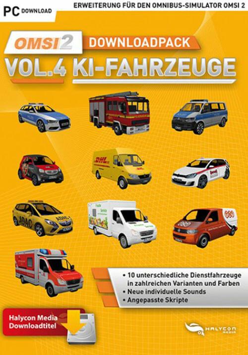 OMSI 2 Add-on Downloadpack Vol. 4 - KI-Fahrzeuge - Cover