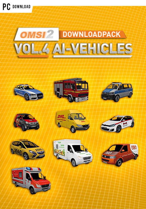 OMSI 2 Downloadpack Vol. 4 - AI-Vehicles - Cover
