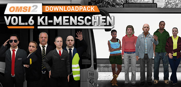 OMSI 2 Add-on Downloadpack Vol.6 - KI-Menschen