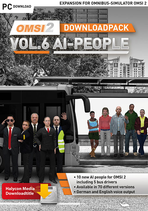 OMSI 2 Downloadpack Vol. 6 - AI-People - Cover
