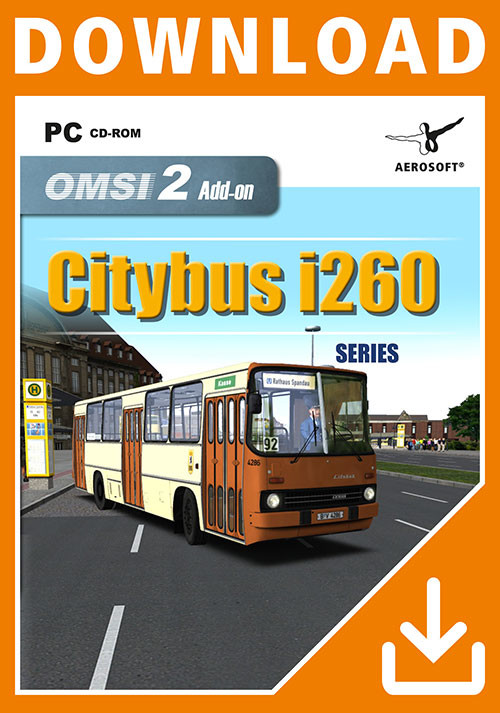 OMSI 2 Add-on Citybus i260 Series - Cover / Packshot