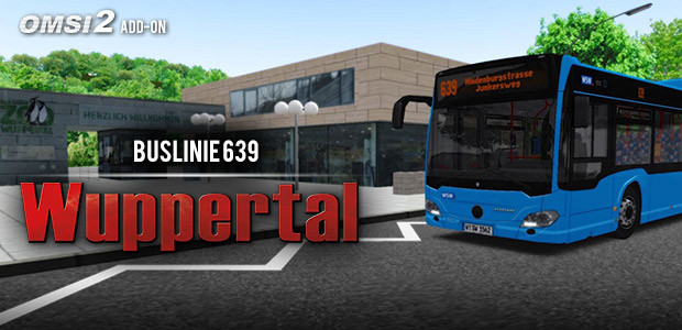 OMSI 2 Add-On Wuppertal Buslinie 639 - Cover / Packshot