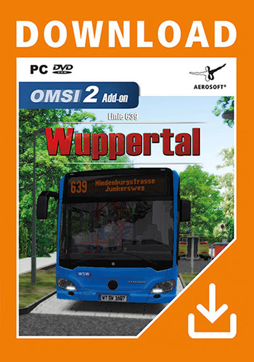 OMSI 2 Add-On Wuppertal Buslinie 639 - Cover