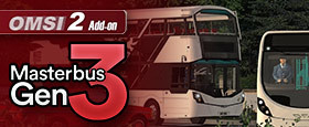 OMSI 2 Add-On Masterbus Gen 3 Pack