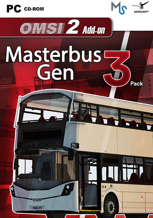 OMSI 2 Add-On Masterbus Gen 3 Pack - Cover / Packshot