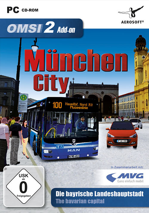OMSI 2 Add-On München City - Cover / Packshot