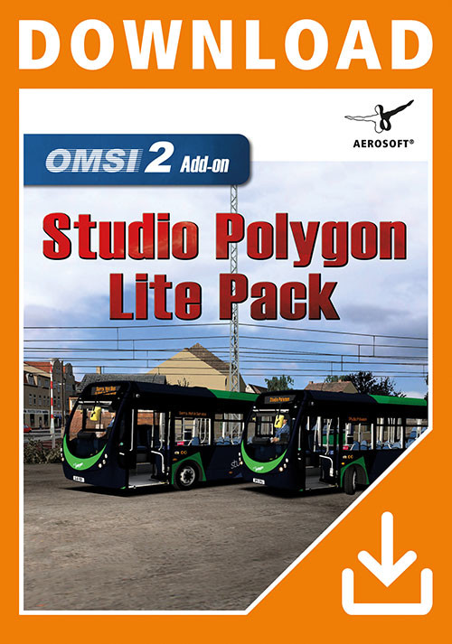 OMSI 2 Add-On Studio Polygon Lite Pack - Cover / Packshot