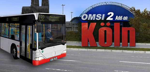 OMSI 2 Add-on Cologne - Cover / Packshot