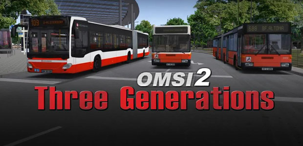 OMSI 2 Add-on Three Generations - Cover / Packshot