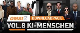 OMSI 2 Downloadpack Vol. 8 - KI-Menschen