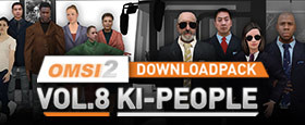 OMSI 2 Downloadpack Vol. 8 - AI people