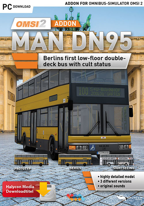 OMSI 2 Add-on MAN DN95 - Cover / Packshot
