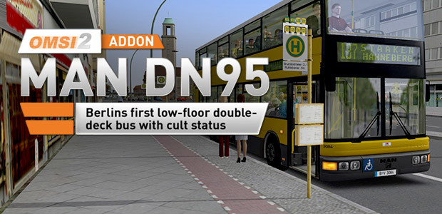 OMSI 2 Add-on MAN DN95 - Cover / Packshot