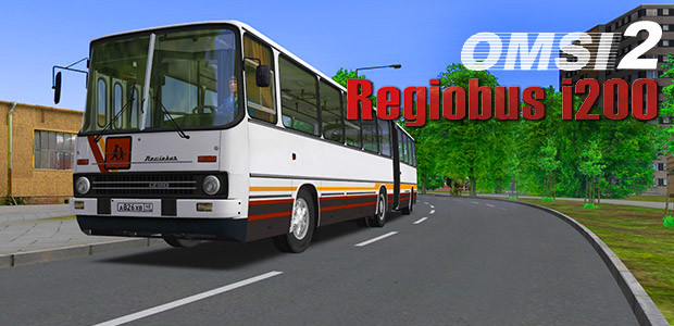 OMSI 2 Add-On Regiobus i200 - Cover / Packshot