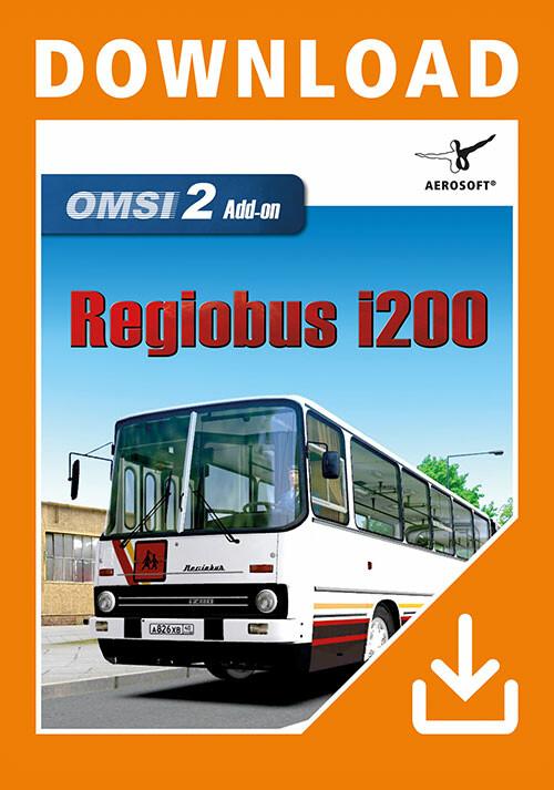OMSI 2 Add-On Regiobus i200 - Cover / Packshot