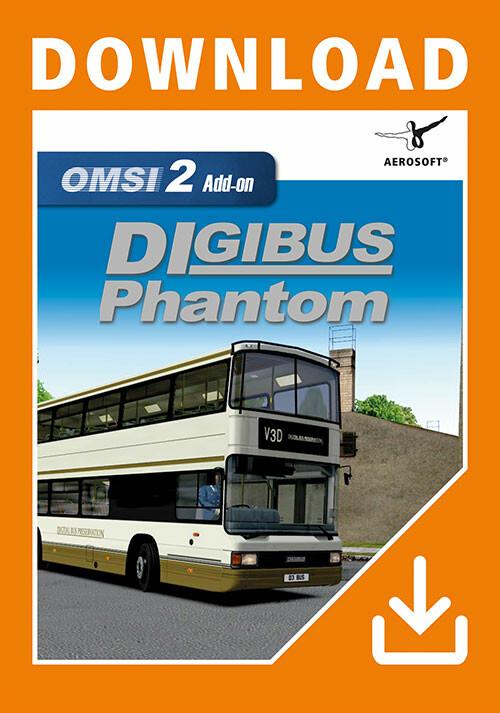 OMSI 2 Add-On Digibus Phantom - Cover / Packshot