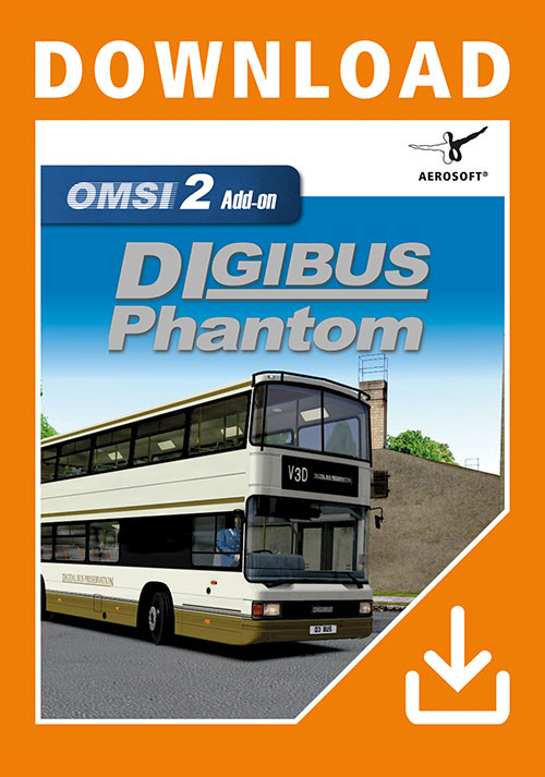 OMSI 2 Add-On Digibus Phantom - Cover / Packshot