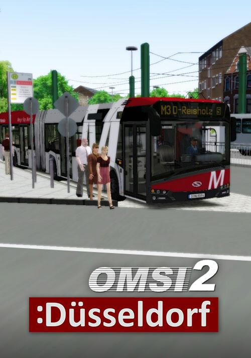 OMSI 2 Add-On Düsseldorf - Cover / Packshot