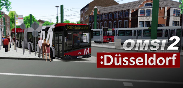 OMSI 2 Add-On Düsseldorf - Cover / Packshot