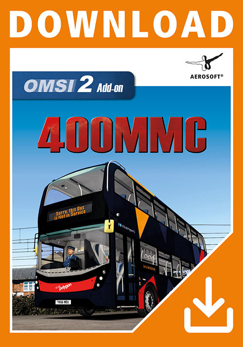 OMSI 2 Add-On Studio Polygon 400 MMC Pack - Cover / Packshot