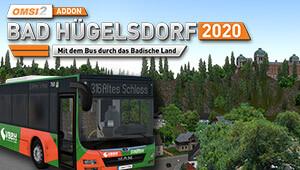 OMSI 2 Add-on Bad Hügelsdorf 2020