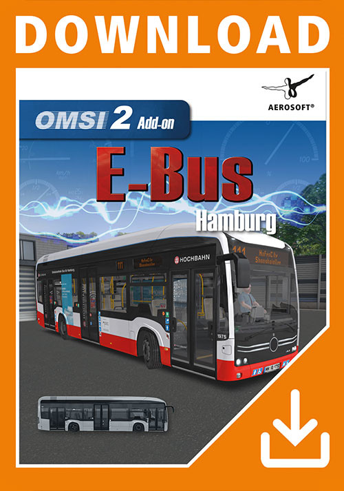 OMSI 2 Add-On E-Bus Hamburg - Cover / Packshot