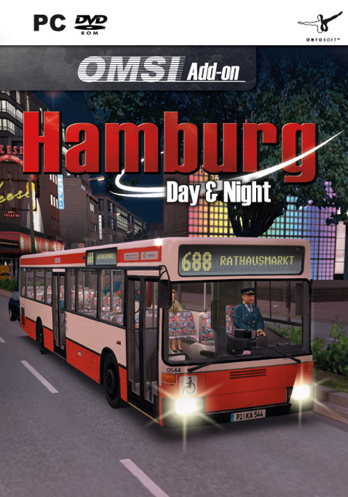 OMSI 2 Add-on Hamburg - Day & Night - Packshot