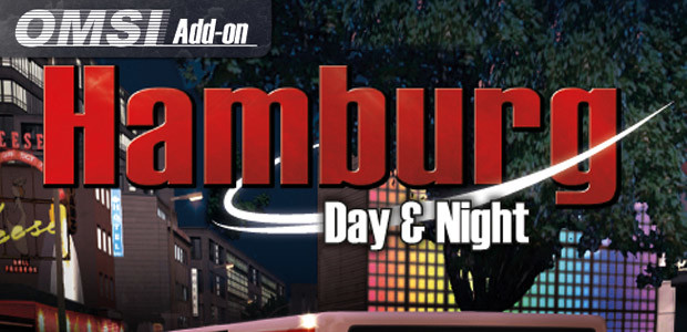 OMSI 2 Add-on Hamburg - Day & Night - Cover / Packshot