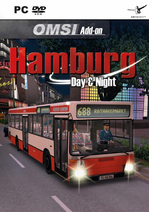 OMSI 2 Add-on Hamburg - Day & Night - Cover