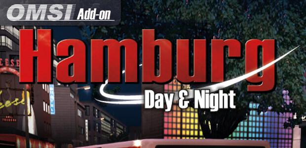 OMSI 2 Add-on Hamburg - Day & Night - Cover / Packshot