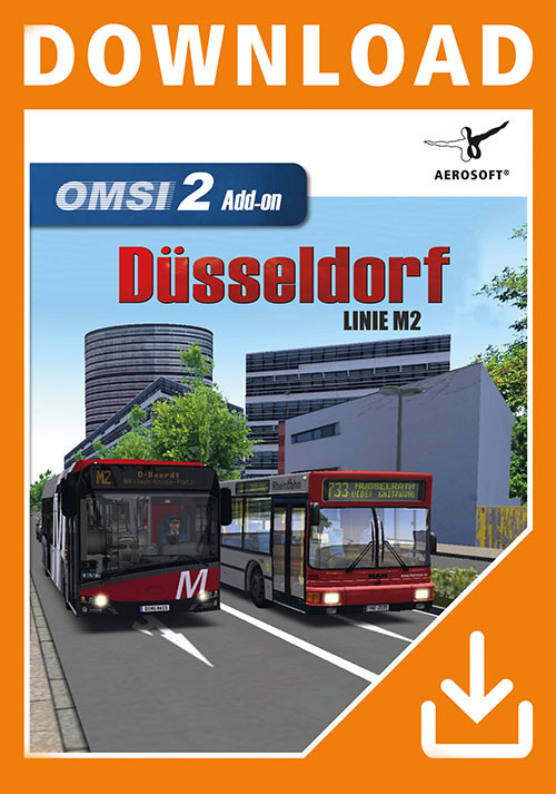 OMSI 2 Add-on Düsseldorf M2 - Cover / Packshot