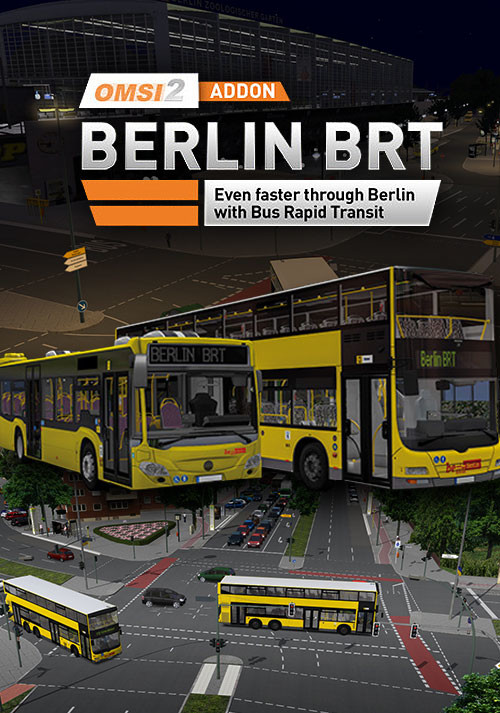 OMSI 2 Add-On Berlin BRT - Cover / Packshot
