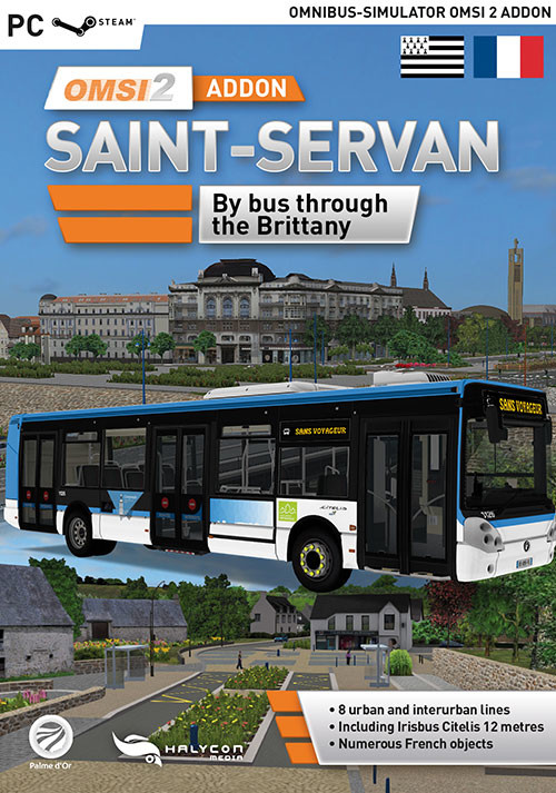 OMSI 2 Add-on Saint-Servan - Cover / Packshot